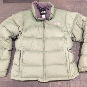 North Face Goose Down Insulated Puffer